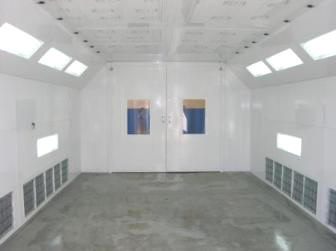 Wisconsin Downdraft Paint Booths Final Process Equipment