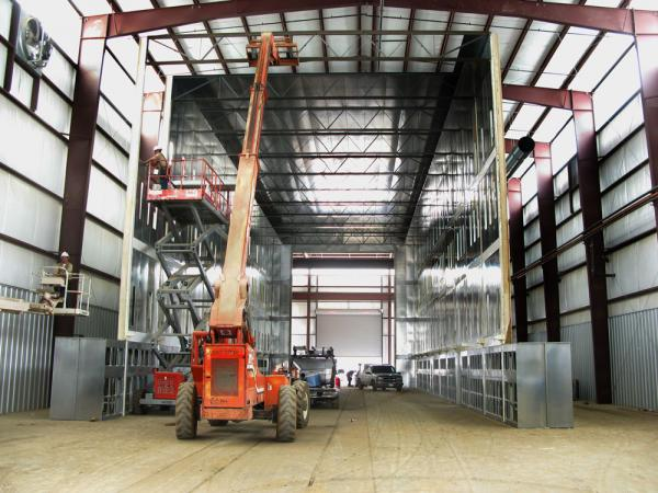 Wisconsin Custom Industrial Paint Booths - Il.